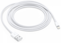 Apple propojovací kabel Lightning-USB 2m (Bulk)