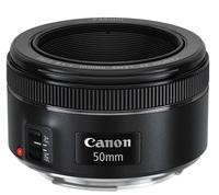 Canon EF 50mm f/1,8 STM + ochranný filtr + PL filtr + sluneční clona!