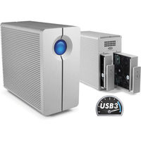 "LaCie 2big Quadra 8TB HDD, 3.5""USB 3.0"