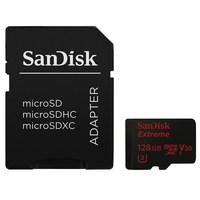 SanDisk Micro SDXC 128GB Extreme 90 MB/s Class 10 UHS-I V30 + Adaptér