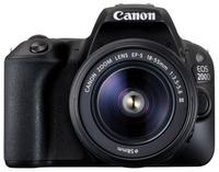 Canon EOS 200D + 18-55mm IS STM černý