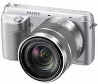 Sony NEX-F3 + 18-55 mm stříbrný