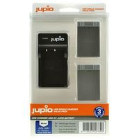 Jupio Kit 2x PS-BLS-5-50 + USB Single Charger pro Olympus