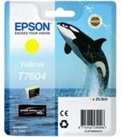Epson T7604 Yellow - žlutá