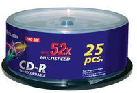 Fuji CD-R 700 MB 25 ks