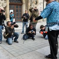 Práce s bleskem v exteriéru s Nikonem