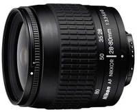 Nikon 28-80 mm F3,3-5,6G AF ZOOM NIKKOR STŘÍBRNÝ, ČERNÝ