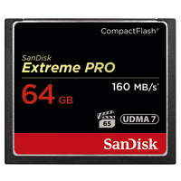 SanDisk 64GB CF EXTREME PRO UDMA7 160 MB/s