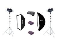 Fomei Digitalis Pro S 400/400, kit studiových blesků + odpalovače zdarma