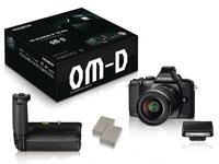 Olympus E-M5 + 12-50 mm černý + Power Kit