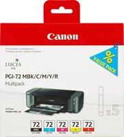 Canon cartridge PGI-72 MBK/C/M/Y/R Multipack