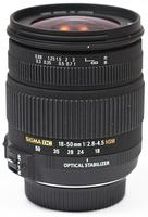 Sigma 18-50mm F 2,8-4,5 DC OS HSM pro Sony