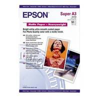 Epson Matte Paper Heavy Weight A3+, 50 listů