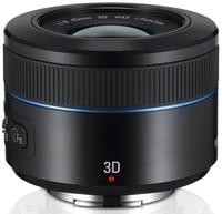 Samsung NX 45mm f/1,8 2D/3D černý