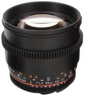 Samyang CINE 85mm T/1,5 VDSLR II pro Canon