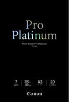 Canon fotopapír PT-101 Pro Platinum (A3)