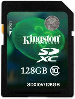Kingston SDXC 128GB Class 10