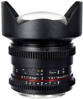Samyang CINE 14mm T/3,1 VDSLR pro Fuji X