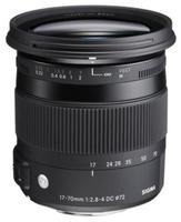 Sigma 17-70mm f/2,8-4,0 DC Macro OS HSM Contemporary pro Canon