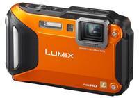 Panasonic Lumix DMC-FT5 oranžový + 16GB Ultra karta + originální pouzdro + čistící utěrka!