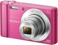Sony CyberShot DSC-W810 černý + 8GB karta + pouzdro 60G + ministativ + čistící utěrka!