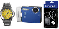Olympus Mju 790 SW modrý