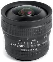 Lensbaby Circular Fisheye pro Nikon