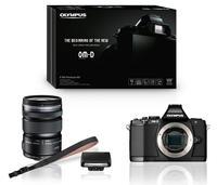 Olympus E-M5 + 12-50 mm černý + Premium Kit