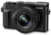 Panasonic Lumix DMC-LX100 černý + 32GB karta + brašna Wizz 7 + automatická krytka + čistící utěrka!