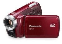 Panasonic SDR-S7 červený
