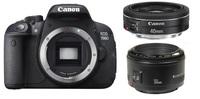 Canon EOS 700D + 40 mm + 50 mm Set pro Portrét/Reportáž