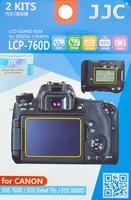 JJC ochranná folie LCD LCP-760D pro Canon EOS 760D