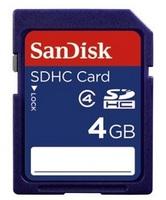 SanDisk SDHC 4GB Class 4