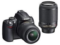 Nikon D5000 + 18-55 mm VR + 55-200 VR Kit