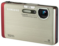 Samsung ST1000 stříbrný