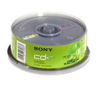 Sony CD-R 700MB 25ks