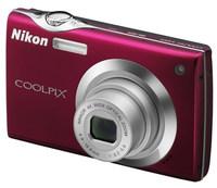 Nikon Coolpix S4000 červený