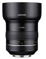 Samyang Premium MF 85mm f/1,2 pro Canon EF