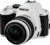 Pentax K-r + 18-55 mm bílý
