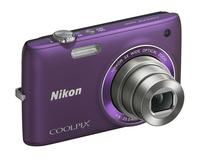 Nikon Coolpix S4100 fialový