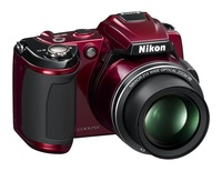 Nikon Coolpix L120 červený