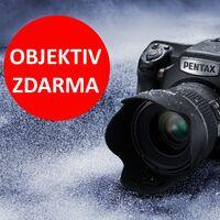 K nákupu Pentax 645Z dostanete navíc objektiv FA 645 55mm f/2,8 zdarma