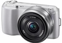 Sony NEX-C3 stříbrný + 16 mm
