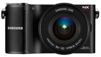 Samsung NX200 + 18-55 mm OIS + blesk SEF20A + 16GB karta + pouzdro DFV80!