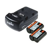 Jupio Kit 2x EN-EL15 + USB Single Charger pro Nikon