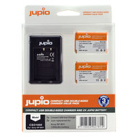 Jupio Kit 2x NP-BX1 + USB Compact Double-Sided Charger pro Sony