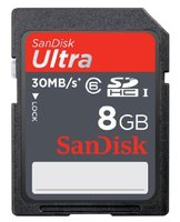 SanDisk SDHC 8GB Class 6 30Mb/s