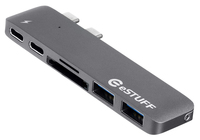 eStuff hub USB-C / Thunderbolt 3 (MacBook Pro/Air)