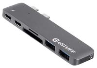 eStuff hub USB-C / Thunderbolt 3 (MacBook Pro)