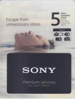 Sony prodloužená záruka na 5 let (2+3) na tělo